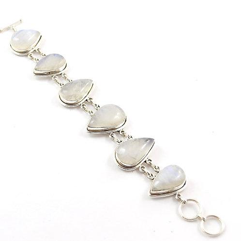 Freya Moonstone Teardrop Bracelet