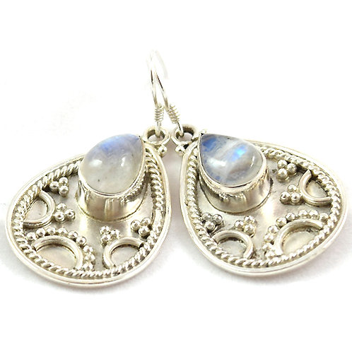 Hathor Moonstone Earrings