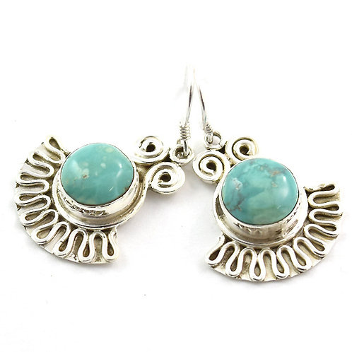 Bkahti Devine Turquoise Earrings