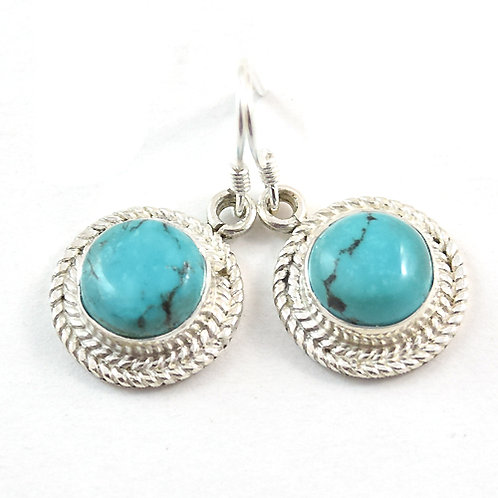 Tara Circulon Turquoise Earrings