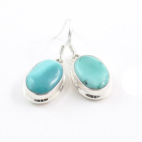 Tara Goddess Turquoise Earrings