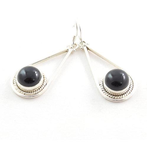Themis Devine Black Onyx Earrings