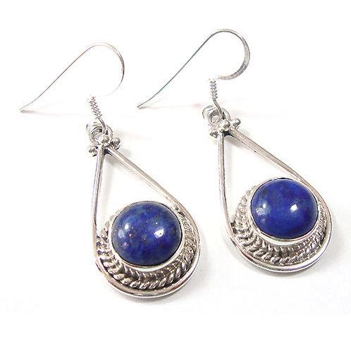 Lapis Lazuli Isis Earrings
