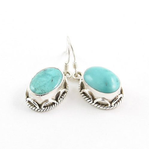 Dolma Turquoise Earrings
