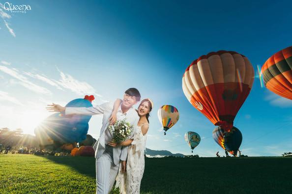 Hot Air Ballon in Taidong Taiwan