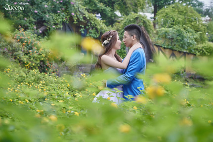 Pre Wedding Shoot In Taiwan / Outdoor Studio