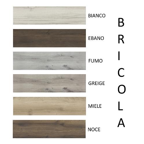 Serie BRICOLA Ceramica RONDINE Formato 30x120cm. e 20x120cm