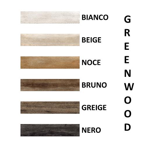 Serie GREENWOOD Ceramica RONDINE