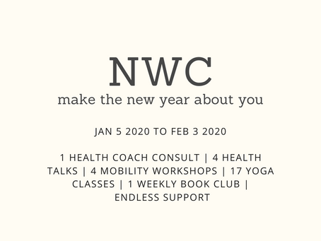 make the new year about you
