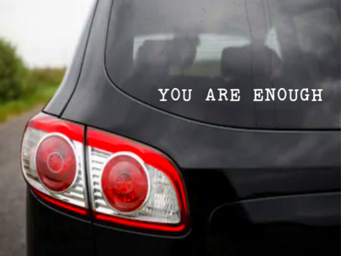 You Are Window/Mirror Decal