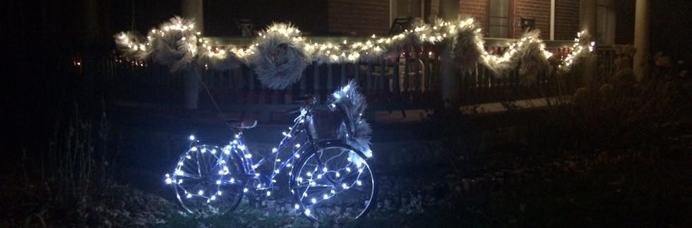 Sparkling Porch Lights