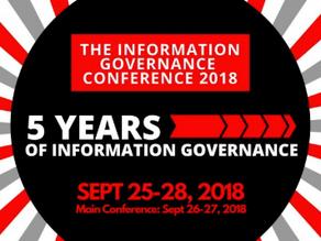 Proud Sponsor of InfoGov Conference September 26-27, 2018