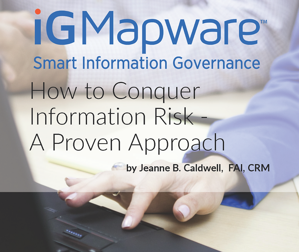 iGMapware software and consulting makes defensible disposition possible