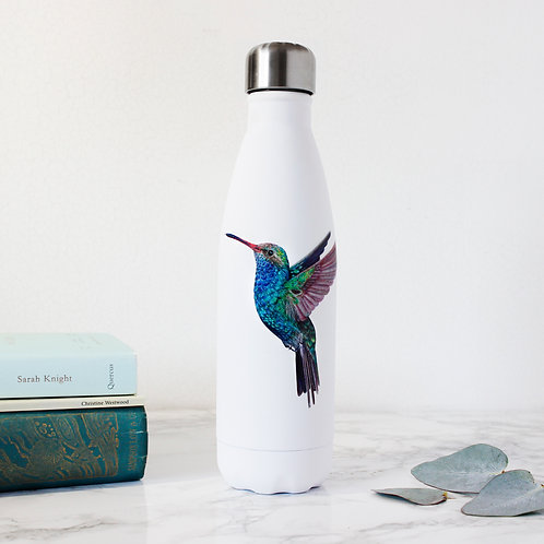 'Little Jewel' Hummingbird - Stainless steel water bottle