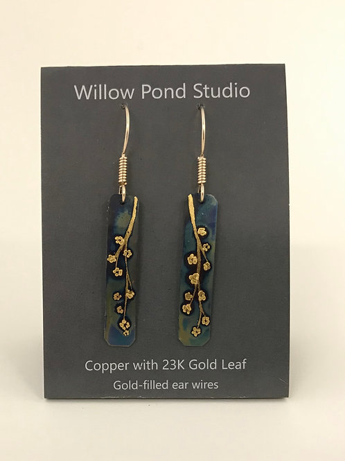 "Blossom Earrings (.25""x 1.25"")"