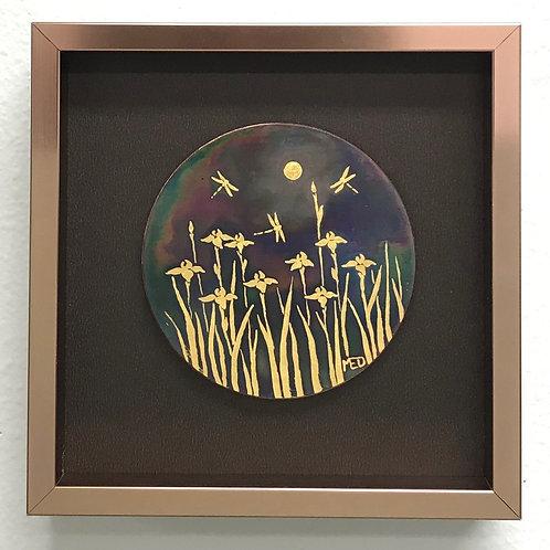 Iris Wallpiece