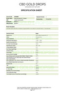 Specification - Page 1 0f 1