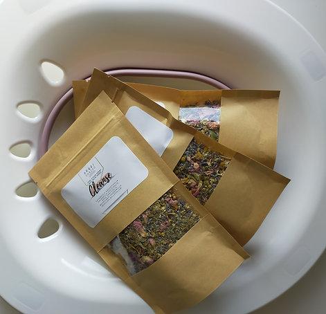 Sitz bath seat + herbs set.