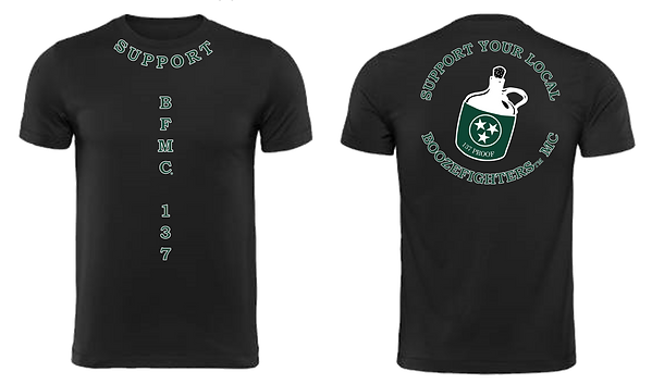 Support T-Shirt Front and Back No Backgr