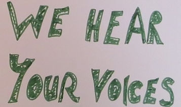 We Hear Your Voices