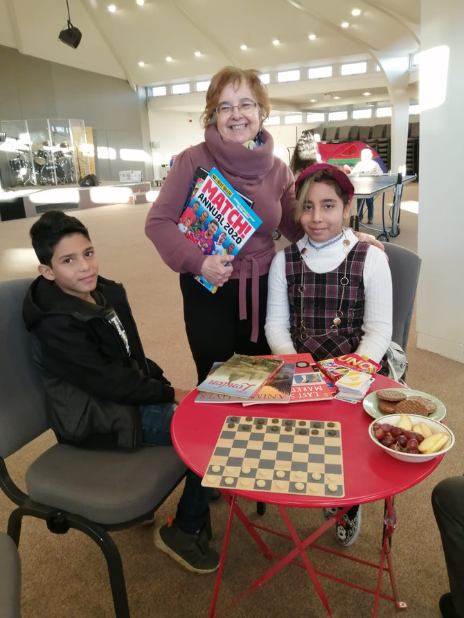 Hungry To Learn At The Language Cafe