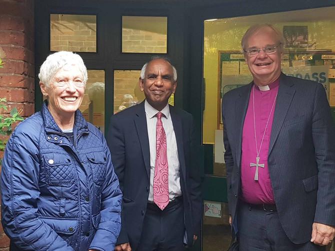 Bishop of Bedford visits BRASS