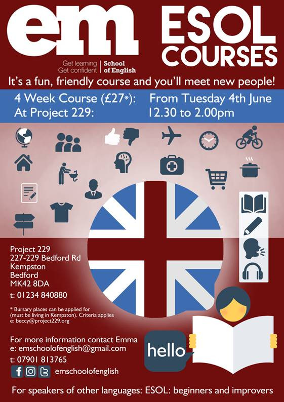 Learn English with Emma at Project 229!