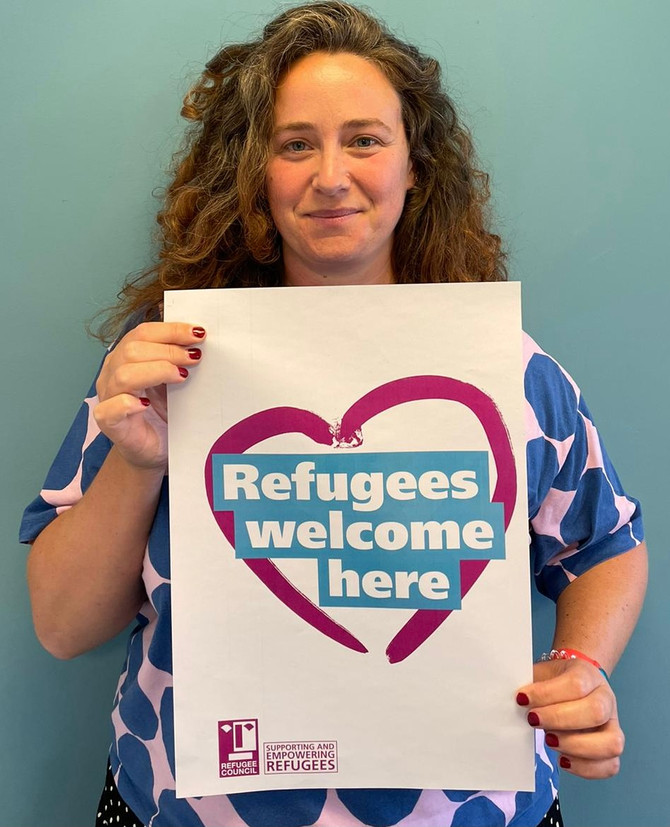 Refugees Welcome Rally - Westminster, 20th October