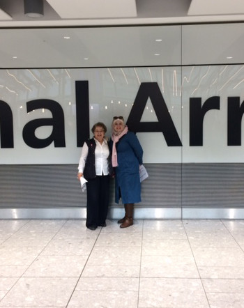 BRASS welcomes two new Syrian families to the UK and Bedford