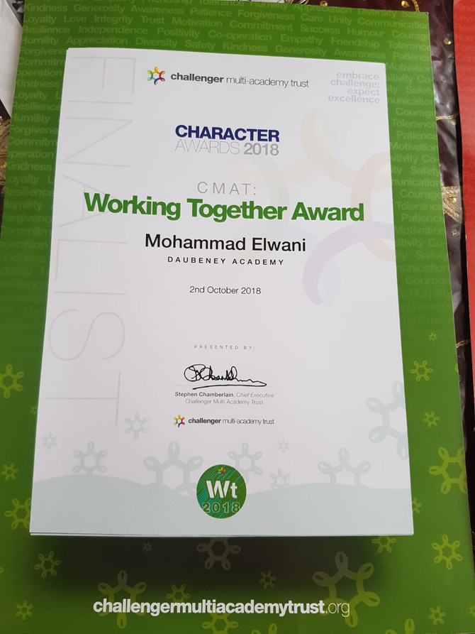 Recognition of Mohammad's achievements