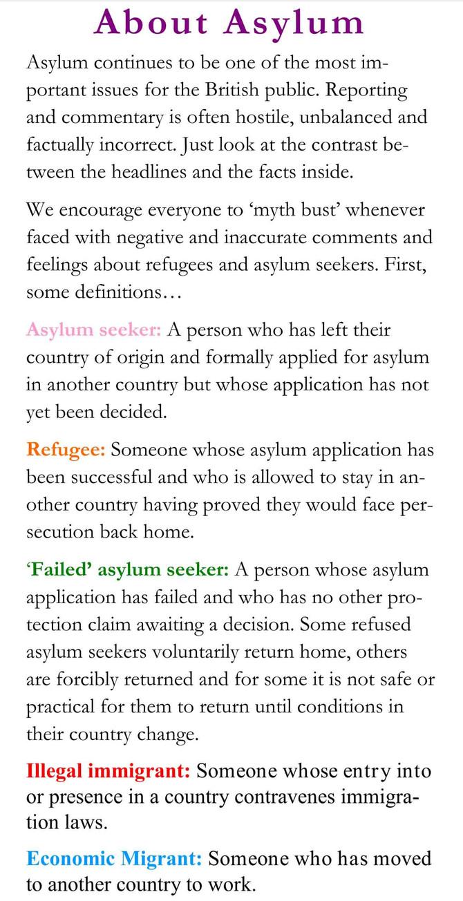 About Asylum.....