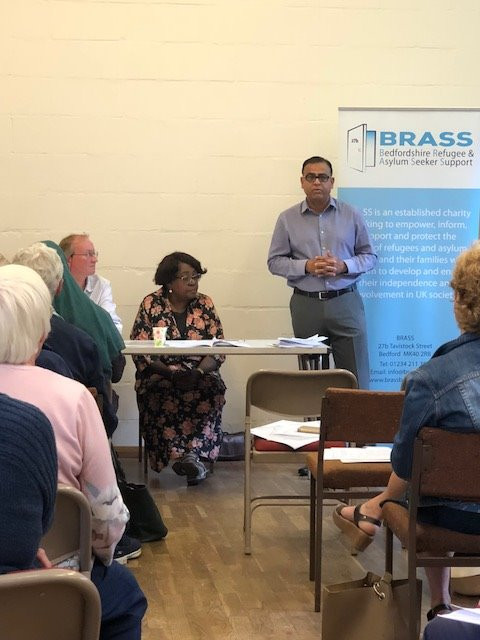 MP speaks at BRASS AGM