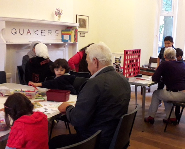 The Quakers-Syrian Social Sunday 26th August