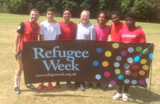 Football celebrates Refugee Week