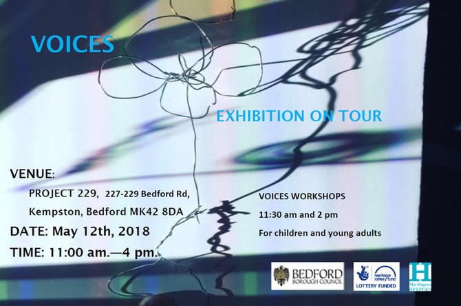VOICES EXHIBITION ON TOUR 2018