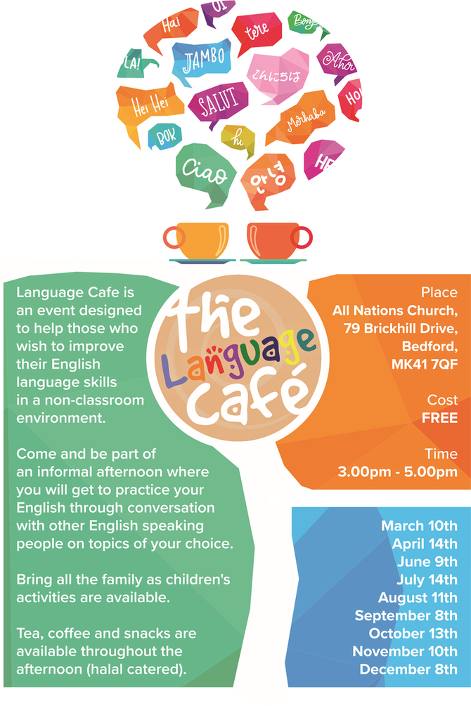 English served up at The Language Cafe!