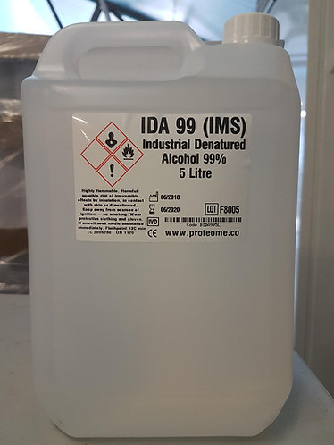 Industrial Denatured Alcohol 5 Litres
