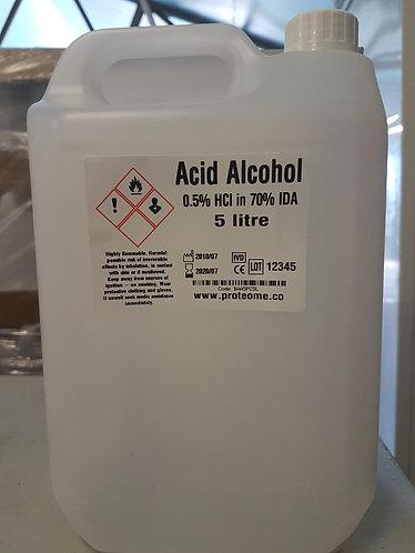 Acid Alcohol 5 Litres