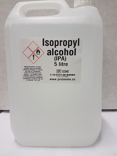 IPA 5 litre 99.9% concentration