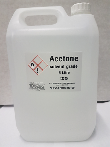 Acetone 5 litres Highest concentration