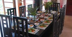 3 fresh vegetarian meals daily