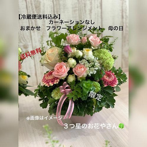 【冷蔵便送料込】カーネーションなし おまかせフラワーアレンジメント 母の日 生花