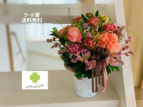 【冷蔵便送料込】 おまかせフラワーアレンジメント 生花