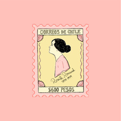Rosita Renard Stamp