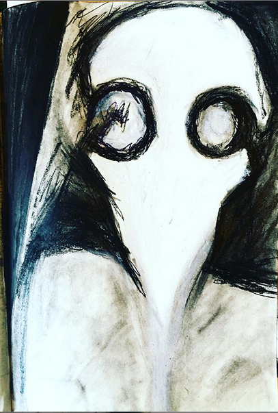 11. Comme un Masque - Portrait Mortuaire