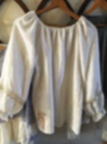 Linen Gypsy Blouse