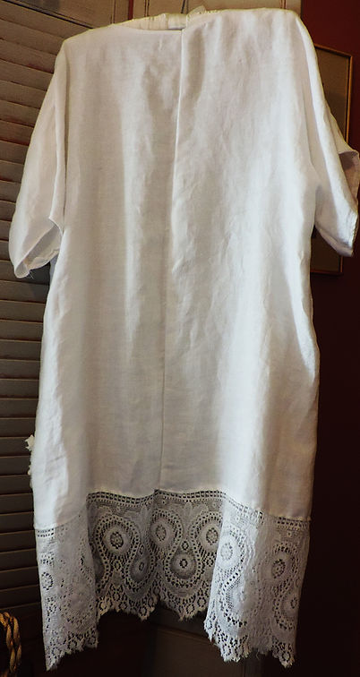 linen tunic top dress