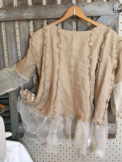 summer sand top tunic