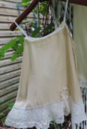 Victorian lace camisole