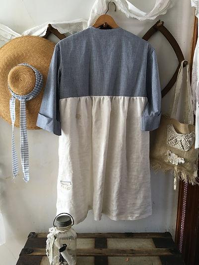 abbys linen dress